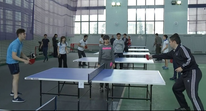 "Interbank ping-pong tournament was organized by the Youth Union of the JSCB ""ASIA ALLIANCE BANK"""